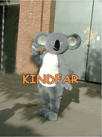 Koala Bear Mascot Costume Teddy Panda Adult Fancy Dress Cartoon Character Outfit Suit Free Shipping