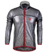 castelli Black 2012 cycling raincoat/Windbreaker, cycling rain jacket,transparent raincoat