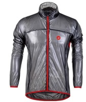 2012 castelli BLACK cycling raincoat/Windbreaker, cycling rain jacket,transparent raincoat