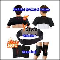 Tormaline Braces Back Support Belt with Self-heating & Magnetic Therapy, Suppport Strap for Waist Knees Shouler 2 Sets Wholesale