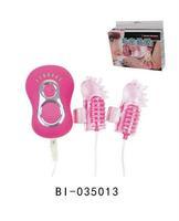 2012 New Product,7-speed vib, Double finger vibrators Sex toys