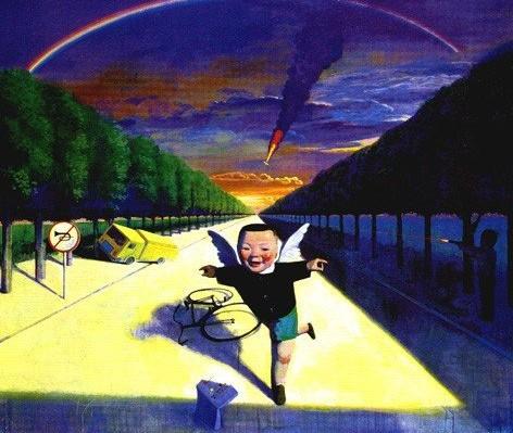 Sad Angel Paintings Picture Sad Angels Boy