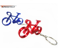 (Opener) 50211 Bicycle Opener / TECHKIN aluminum colorful with chain bottle opener key chain