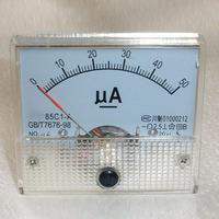 50uA DC AMP Analog Current Panel Meter Ammeter 0-50uA