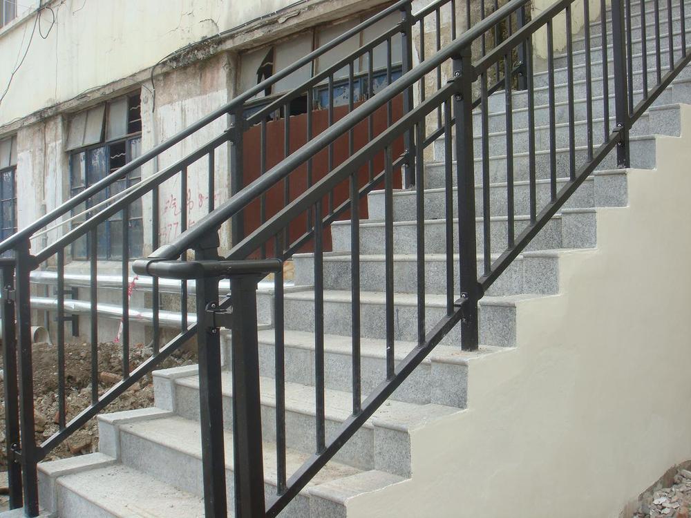 steel stair railing parts