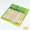D1912pcs/set New Wood Handle Carving Mini Chisels Tool Kit Carpenters DIY Handy Tools Set Free Shipping