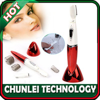 Free shipping ! New Lady Girl Wet/Dry Hair Shaver Bikini Underarms Legs Body Eyebrow Trimmer