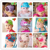 free shipping 10pcs/lot 8 style baby headband peacock feather headband diamond fashion headband