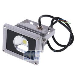 10PCS Free Shipping Pure white led floodlight 10W 85-265V Outdoor Waterproof Project KS283(China (Mainland))