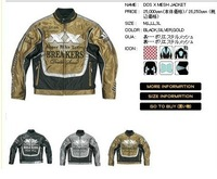 Japan Motorbike Real  Leather jackets Genuine jacket EEC approval best qualty real leather wholesale price