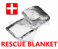 Waterproof Emergency Rescue Space Foil Sliver Thermal Blanket Wholesale 500pcs