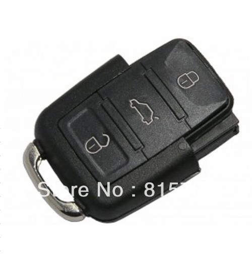 Wholesale (MOQ:One Piece) VW 3 Buttons Remote Smart Control Key 1K0959753J 315MHz for Volkswagen with A+ Quality+Free Shipping(China (Mainland))