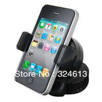 New arrival GE 360 Degree Adjustable Vehicle Mount Holder Windshield Cradle Window Suction Stand for iphone htc, free shipping