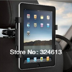 New arrival Universal Car Vehicle Seat Back Headrest Rotatable Mount Holder For Apple iPad 2 3 all tablet PC,free shipping