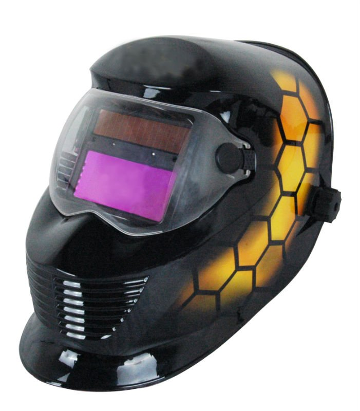 free shipping solar digital welding helmet for Mig Tig(China (Mainland))