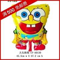 Min.order $19(mixed support) Christmas cute balloon   aluminum  cartoon  space ball   free shipping