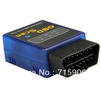 Free shipping 20pcs Bluetooth OBD2 EOBD Car Diagnostic Interface Scan Tool