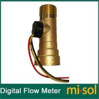 Electronic Flow Sensor Electronic Flow Meter 1-30L/M for solar water heater