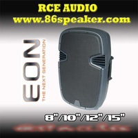 EON Series Plastic speaker Professional speaker box 15 inch self powered speaker with USB input Built-in amplifier