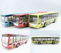 4 car bus baby alloy car model