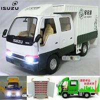 4 in isuzu truck van car model acoustooptical WARRIOR toy car