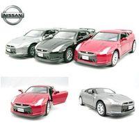 4 soft world kinsmart nissan gtr r35 alloy car model