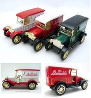 4 plain classical webworm alloy car model toy