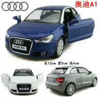 4 soft world AUDI a1 alloy car model WARRIOR cars