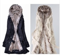 Free Shipping Sunlun Ladies' Korean Version Warm Coat/Winter Coat/Two Colors Available