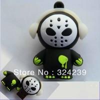 USB2.0 flash memory stick flash disk (cartoon) high quality black body white face 4.8.16.32 GB four capacity