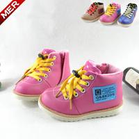 2014 Winter children thicken cotton sport shoes, waterproof snow boots children shoes children boots size 25-37