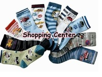 [Free Shipping] Top Quality! 6~9y cotton kids socks ,cartoon socks , mixed colours 20pairs/lot