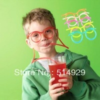 10pair of funny glasses tubularis snore piece suction tubes pipette straw novelty items