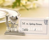 Fashion MINI Wedding Decoration Table Name Card Holder,LOVE Wedding Favor,free shipping