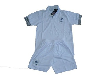 wholesale 2012-2013 France white soccer jersey  kit, boy /youth/kids size original brand & tags football jerseys & shorts