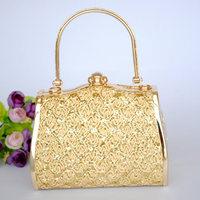 Gold mini ktv dj princess mobile women's handbag garments short skirt partybag clutch bag