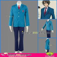 ideamanga]Anime Cosplay Suzumiya Haruhi Kyon Koizumi Itsuki boy's Cosplay Costume School uniforms male halloween Christmas Party