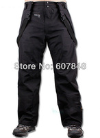 Mens Brand Outdoor Pants Winter Sport Ski Waterproof Windproof Breathable Hiking Camping Trousers