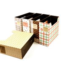 At home fashion small desktop storage box finishing box