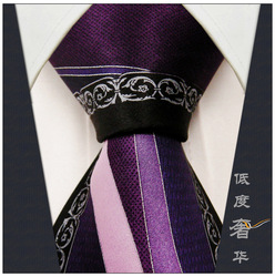 Pattern Purple Black Silver Pink Mens Necktie Ties 100% Silk Printed Wedding Men Ties For Men Brands Ties For Men Casual Dress(China (Mainland))