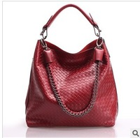 New arrival genuine leather womens fashion handbags,big cowhide shoulder bags sa00 fr