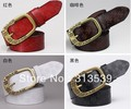 Plum buckle autumn and winter all-match genuine leather women&#39;s belt female fashion women&#39;s genuine leather strap female