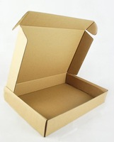 Free shipping 36*26*6CM wholesale 10pcs Kraft Corrugated Board Paper Box for clothes, gift , t shirt .....
