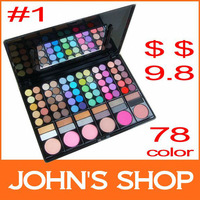Тени для глаз Pro Eye shadow Palette set + Gift! 120 Color Eyeshadow palette! make up palette High quality makeup Eye shadow
