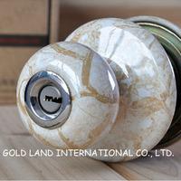 Free shipping 2pcs/set ceramics lever handle door lock