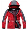 Free Shipping PIZEX High Quality Men's Outdoor Double Layer Waterproof Ski Skiing Jacket Climbing Jacket(China (Mainland))