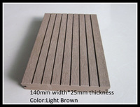 Hot sale and recyclable outdoor wood plastic composite/wpc decking
