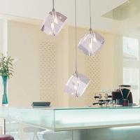 Modern brief crystal pendant light 3 crystal fashion dining room pendant light living room lamps lighting