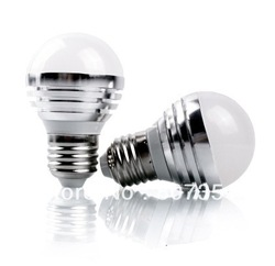50% discount sale 10pcs led globe lamp 6W Dimmable&amp;Non-dimmable E27/E14/B22 for optinal base hot sale(China (Mainland))