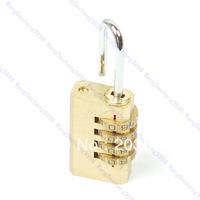 Free Shipping 4 Digit Metal Combination Lock Password Number Security Plus Padlock